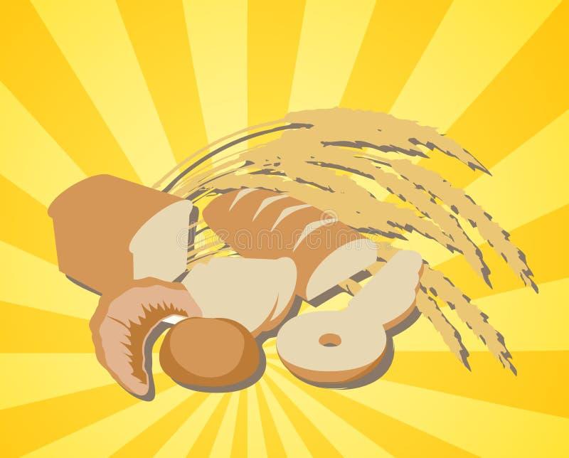 ψωμί αφθονίας ελεύθερη απεικόνιση δικαιώματος