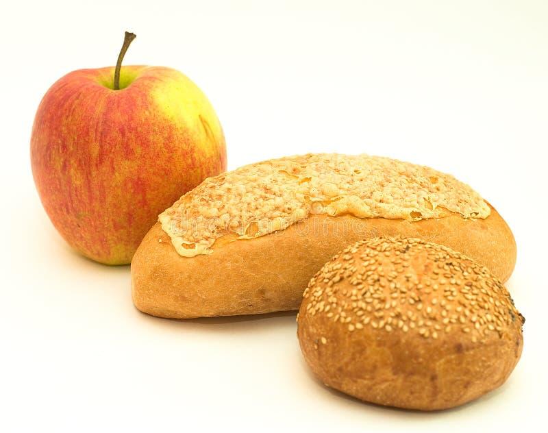 ψωμί μήλων στοκ φωτογραφίες
