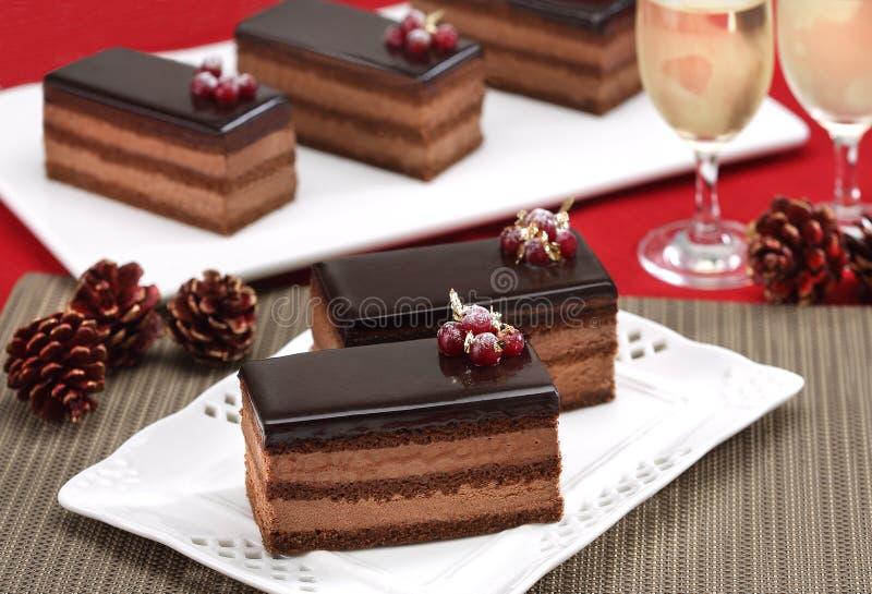 Ψωμί με τη σοκολάτα στοκ φωτογραφία με δικαίωμα ελεύθερης χρήσης