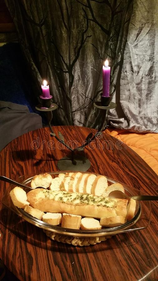 Ψωμί με Alheira στοκ φωτογραφίες με δικαίωμα ελεύθερης χρήσης