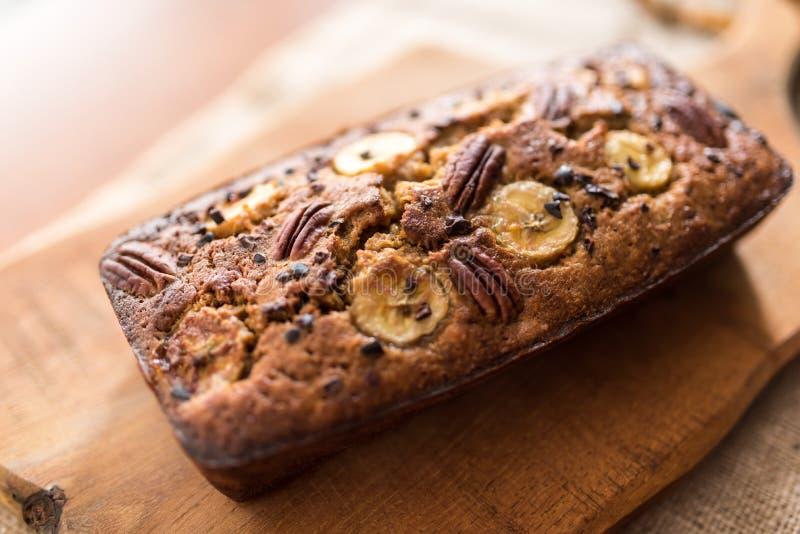 Ψωμί μπανανών στοκ εικόνες