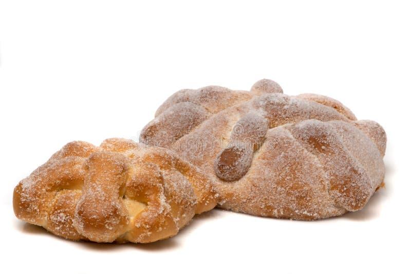 Ψωμί νεκρών Pan de muertos στοκ φωτογραφίες με δικαίωμα ελεύθερης χρήσης