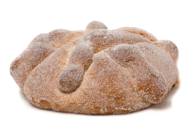 Ψωμί νεκρών Pan de muertos στοκ εικόνα