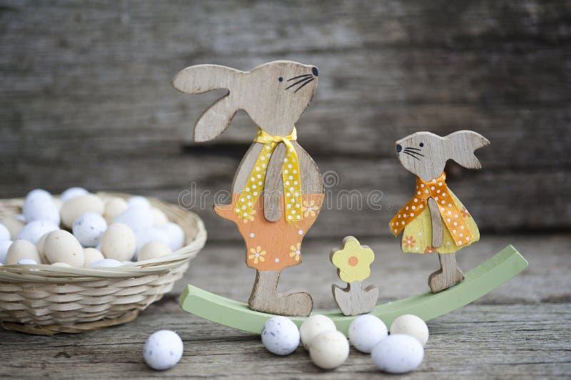 Ψωμί Πάσχας και αυγά Πάσχας, φεστιβάλ Πάσχας, διακόσμηση τις ημέρες Πάσχας στοκ φωτογραφίες