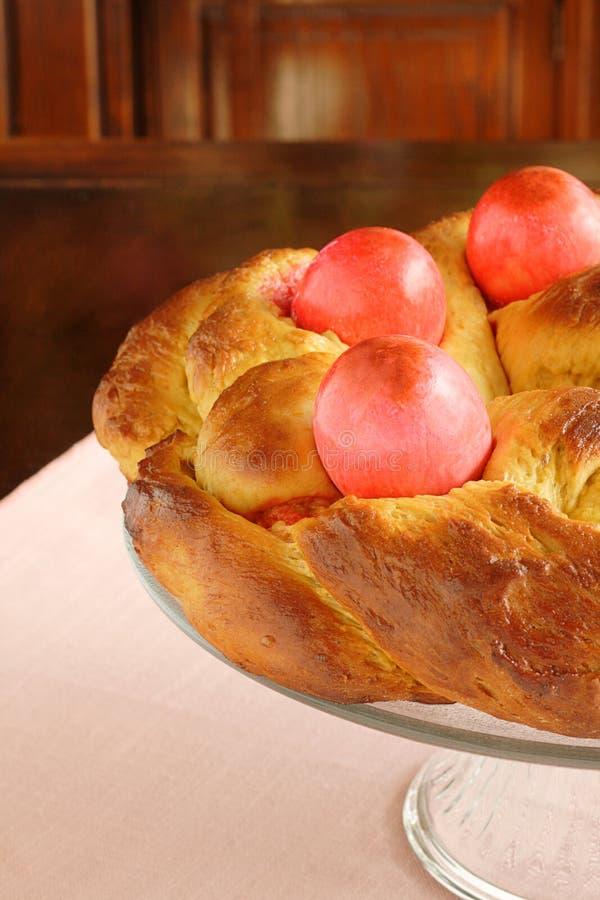 ψωμί Πάσχα στοκ εικόνα