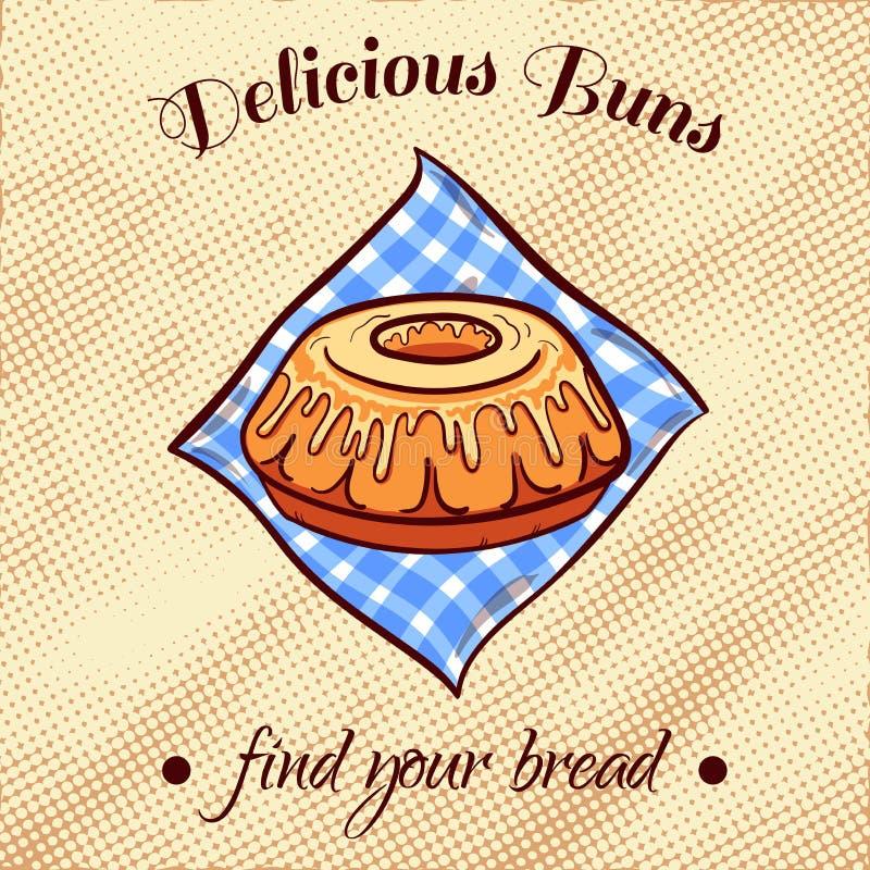 Ψωμί σε μια πετσέτα 18 ελεύθερη απεικόνιση δικαιώματος