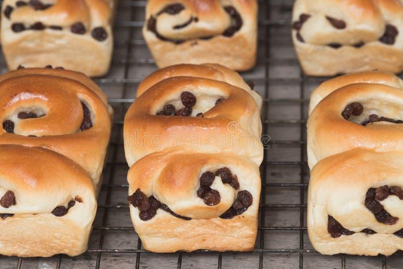 Ψωμί σταφίδων στοκ φωτογραφίες