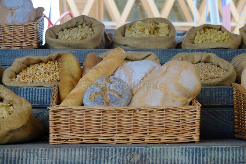 Ψωμί του Μιλάνου EXPO στοκ εικόνες