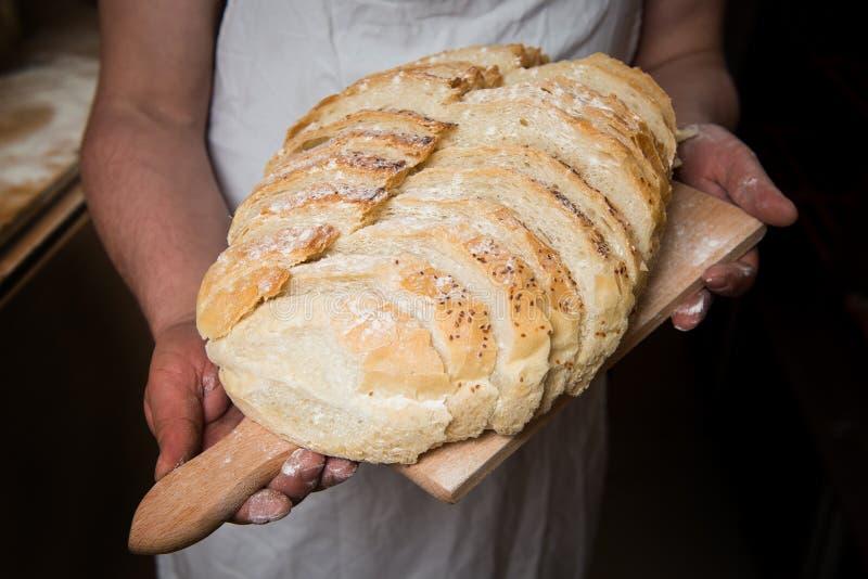 Ψωμί χωριάτικο στοκ εικόνες με δικαίωμα ελεύθερης χρήσης