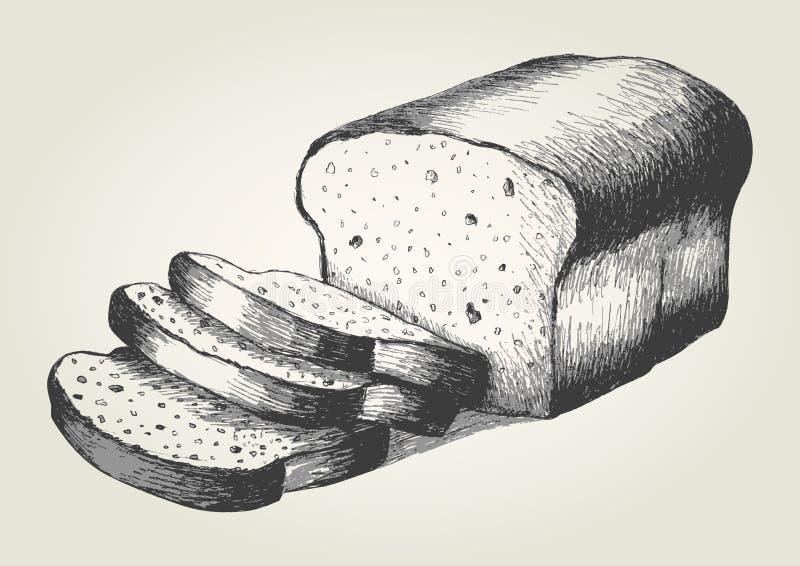 Ψωμί απεικόνιση αποθεμάτων