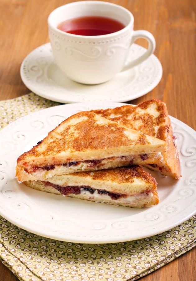 Ψωμί Eggy ή γαλλική φρυγανιά στοκ φωτογραφία με δικαίωμα ελεύθερης χρήσης