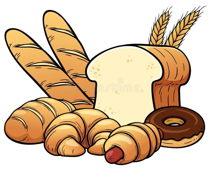 ψωμιών διανυσματική απεικόνιση