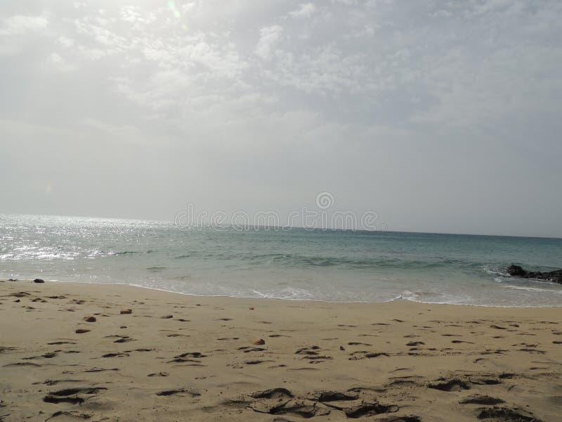 Ωκεάνια άποψη σχετικά με τα Κανάρια νησιά στοκ φωτογραφίες