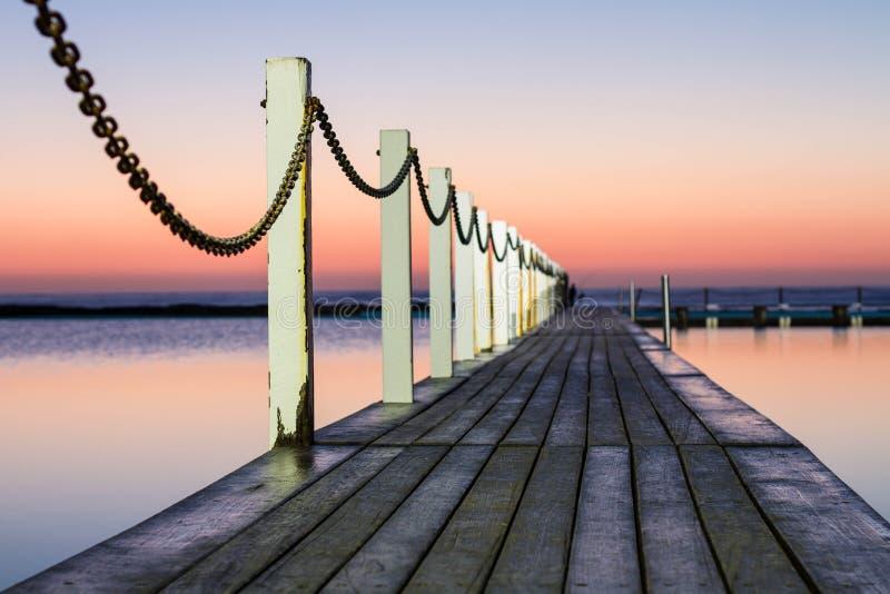 Ωκεάνια λίμνη Narrabeen στοκ εικόνα