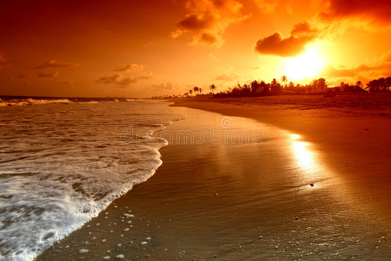 ωκεάνια ανατολή στοκ φωτογραφία