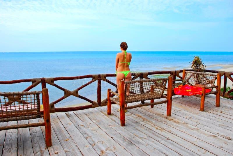 ωκεάνια γυναίκα στοκ εικόνες με δικαίωμα ελεύθερης χρήσης