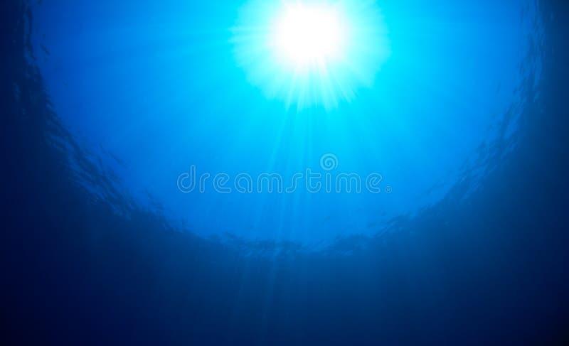 Ωκεάνια ηλιοφάνεια επιφάνειας στοκ εικόνες με δικαίωμα ελεύθερης χρήσης