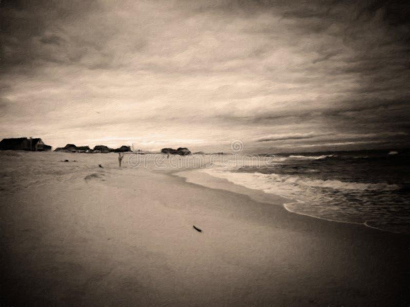 Ωκεάνια παραλία στοκ φωτογραφία με δικαίωμα ελεύθερης χρήσης