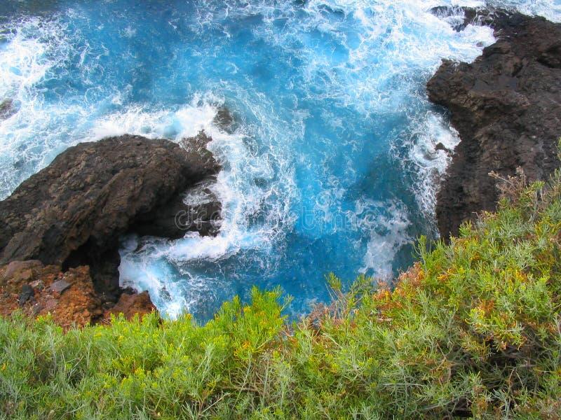 ωκεάνια όψη καναρινιών στοκ εικόνα με δικαίωμα ελεύθερης χρήσης