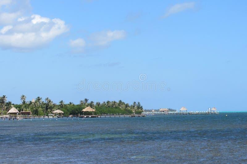 ωκεάνια όψη ambergris caye στοκ φωτογραφίες με δικαίωμα ελεύθερης χρήσης
