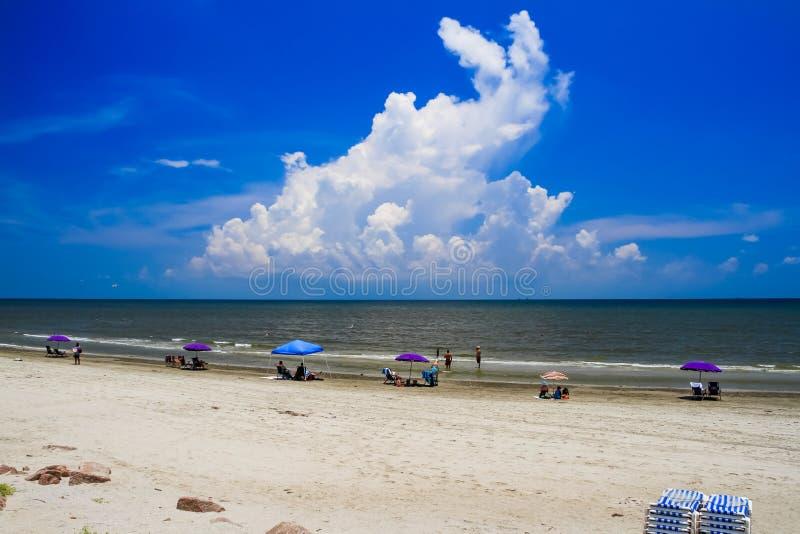 Ωκεάνιες διακοπές παραθαλάσσιων διακοπών καλοκαιριού στοκ φωτογραφίες