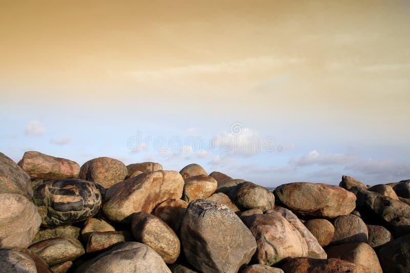 ωκεάνιες πέτρες στοκ φωτογραφία με δικαίωμα ελεύθερης χρήσης