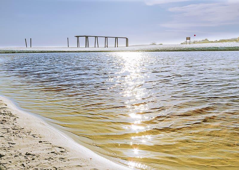 Ωκεάνιοι κυματισμοί κυμάτων στο ηλιοβασίλεμα στοκ εικόνες με δικαίωμα ελεύθερης χρήσης