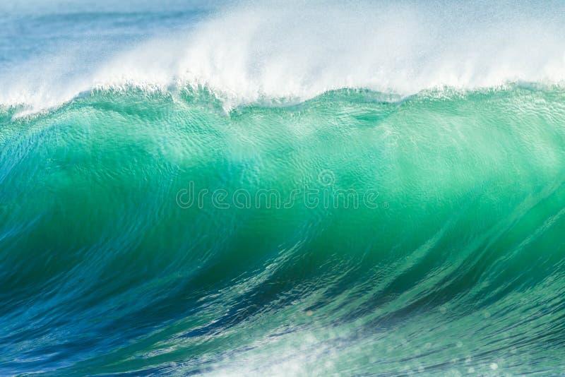 Ωκεάνιος τοίχος νερού κυμάτων στοκ φωτογραφίες