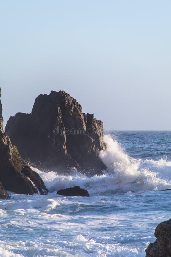 ωκεάνιο ειρηνικό ηλιοβα& στοκ φωτογραφία