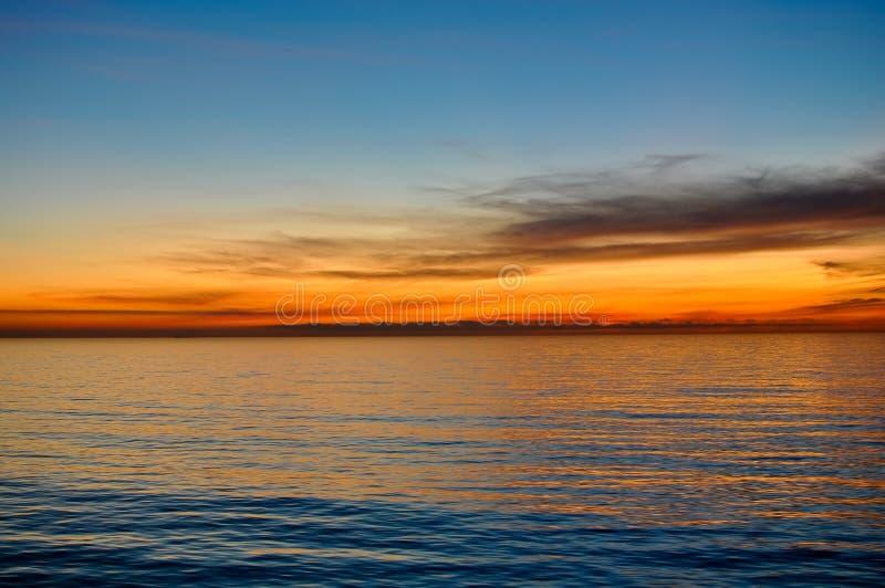 ωκεάνιο ηλιοβασίλεμα α& στοκ φωτογραφίες