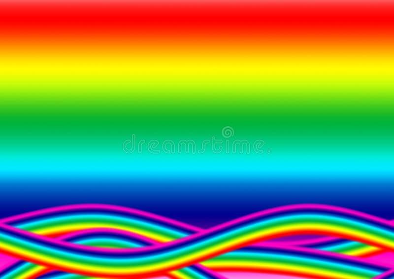 ωκεάνιο ουράνιο τόξο ελεύθερη απεικόνιση δικαιώματος