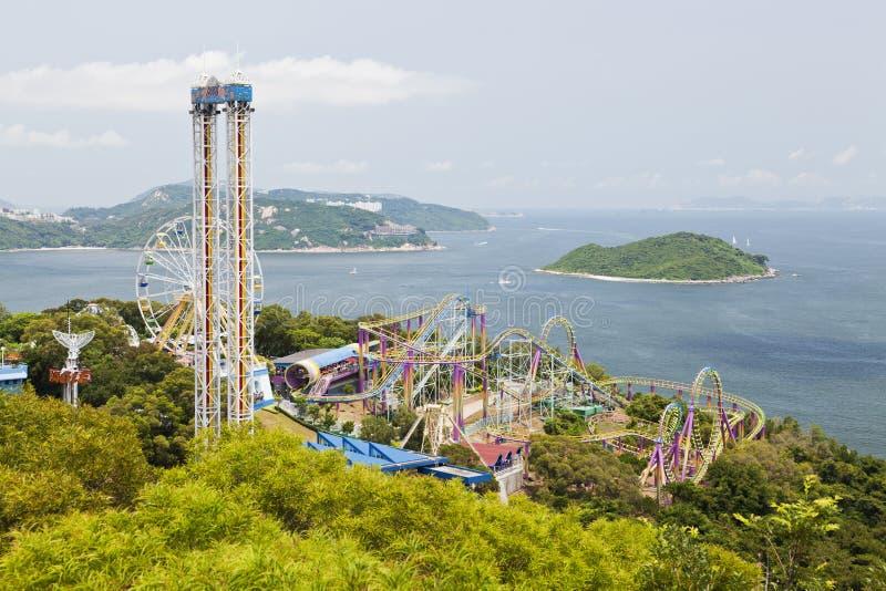 ωκεάνιο πάρκο του Χογκ &Kappa στοκ φωτογραφίες