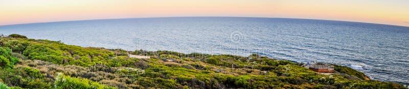 Ωκεάνιο πανόραμα στη νότια παράλια της Αυστραλίας στοκ εικόνα με δικαίωμα ελεύθερης χρήσης