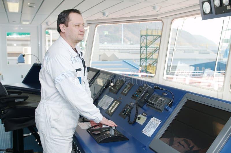 ωκεάνιο σκάφος κυβερνήτη στοκ φωτογραφία με δικαίωμα ελεύθερης χρήσης
