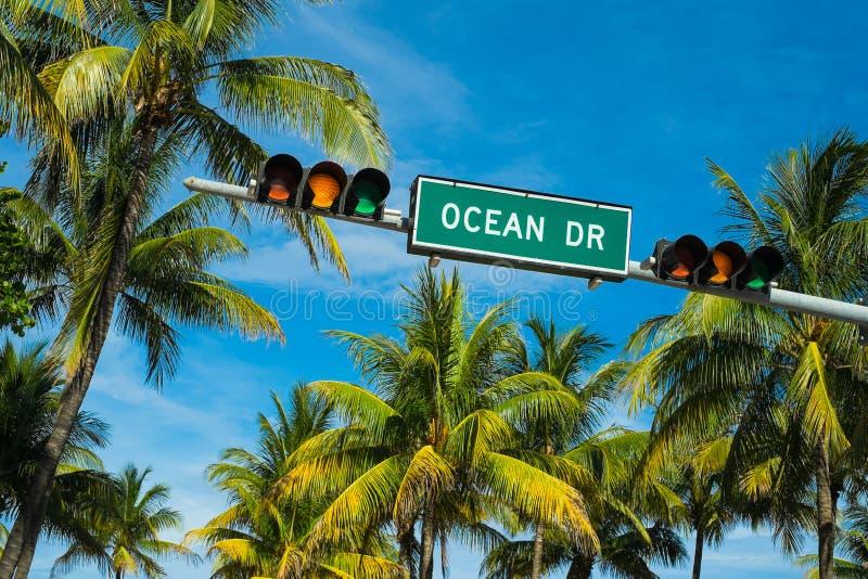 Ωκεάνιο Drive στοκ φωτογραφίες με δικαίωμα ελεύθερης χρήσης
