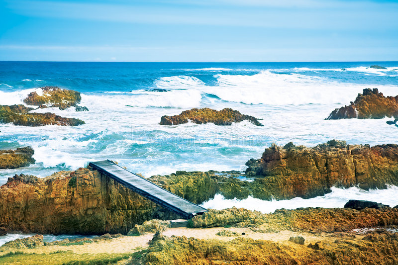ωκεανός ακτών στοκ εικόνες