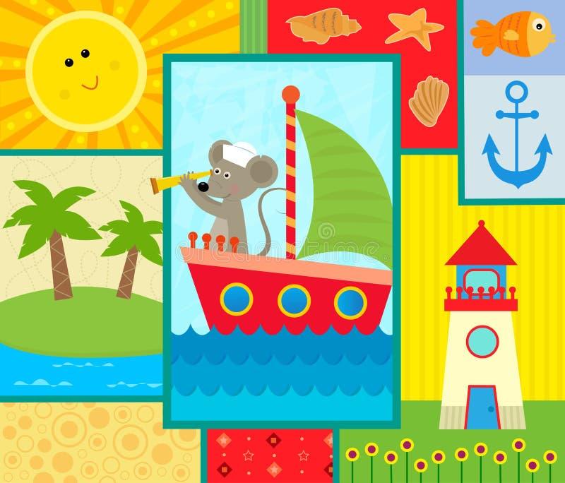Ωκεανός μωρών απεικόνιση αποθεμάτων