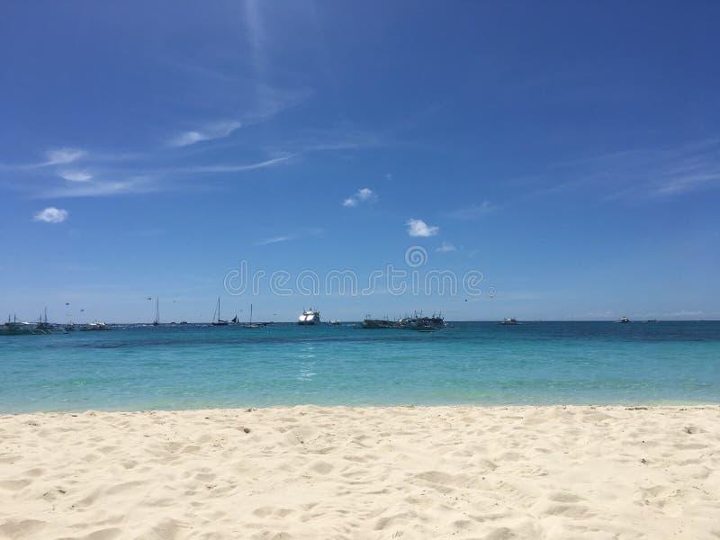 ωκεανός παραλιών αμμώδης στοκ φωτογραφία