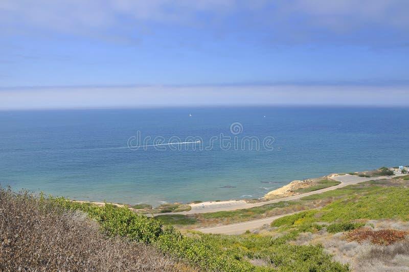 ωκεανός πλευρών antonio manuel πέρα από την ειρηνική όψη rica στοκ εικόνες