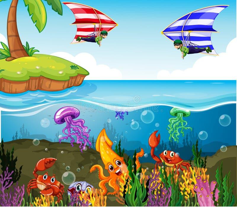 ωκεανός απεικόνιση αποθεμάτων