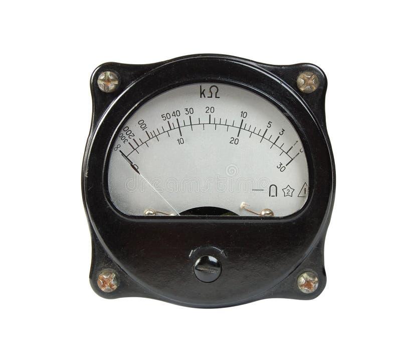 ωμόμετρο στοκ εικόνα