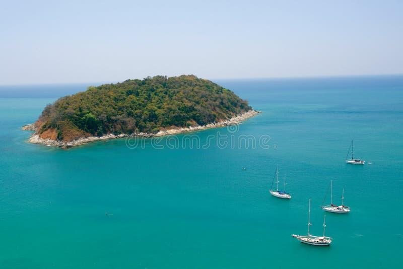 όαση νησιών στοκ φωτογραφία
