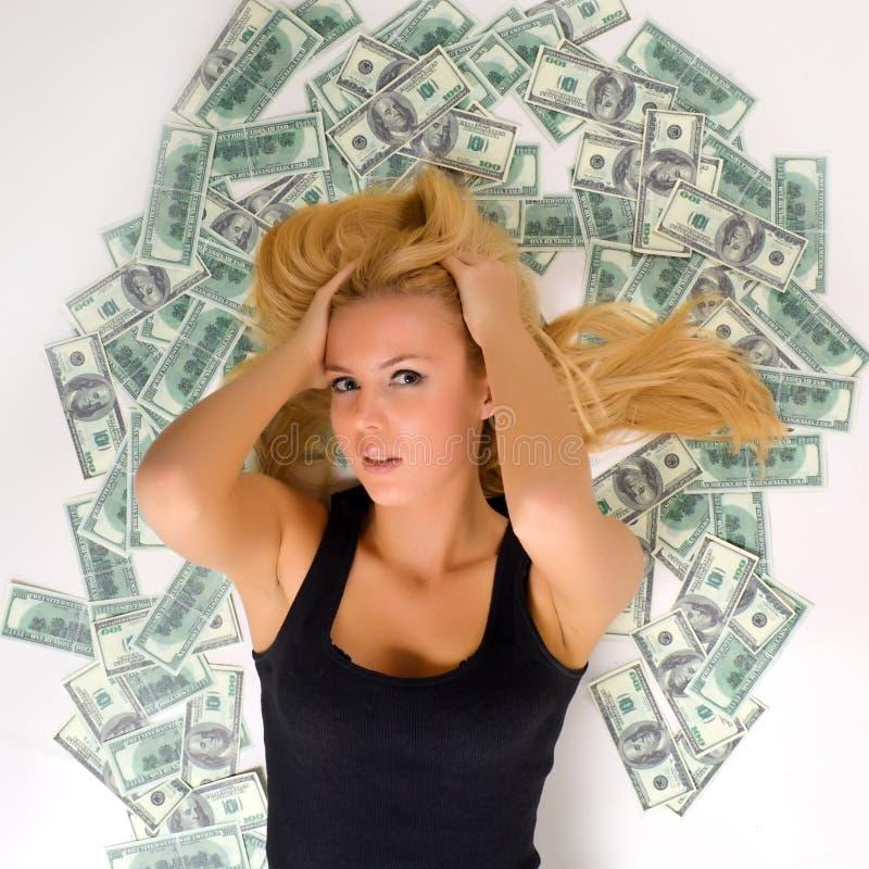 Όλα τα χρήματα στοκ εικόνες