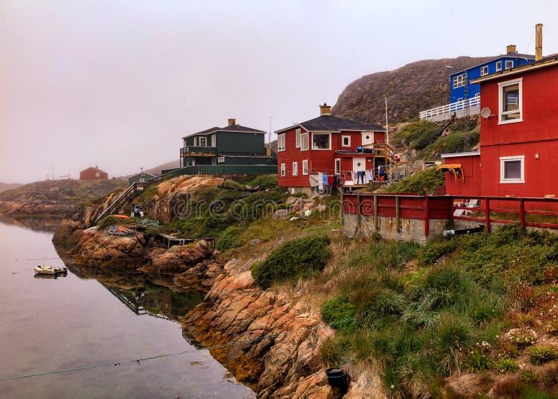 Όλοι ήρεμοι σε Sisimiut, Γροιλανδία στοκ φωτογραφία με δικαίωμα ελεύθερης χρήσης