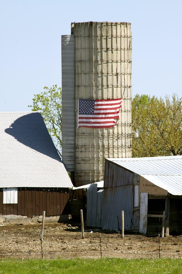 όλο το αμερικανικό αγρόκτ στοκ φωτογραφία με δικαίωμα ελεύθερης χρήσης