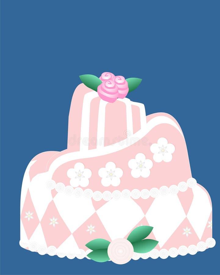 όλο το κέικ προκαλεί το ρ&om απεικόνιση αποθεμάτων