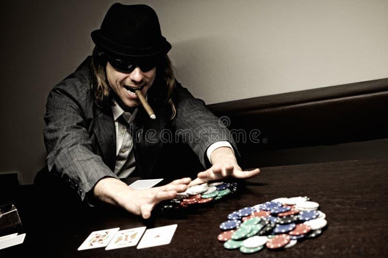 όλο το πόκερ στοκ εικόνα με δικαίωμα ελεύθερης χρήσης