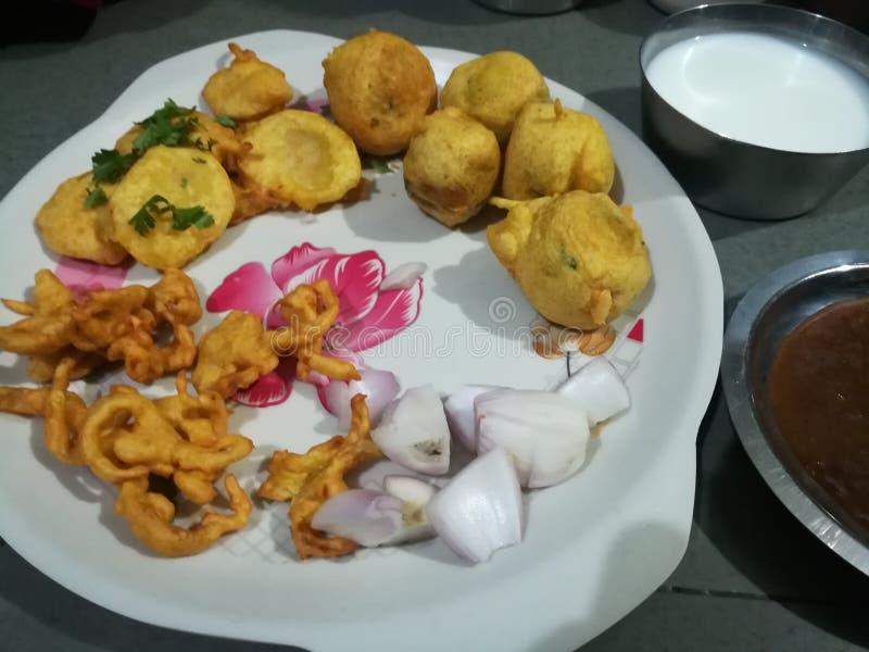 Όλο το gujarati Bhujiya bhajiya στοκ φωτογραφία με δικαίωμα ελεύθερης χρήσης