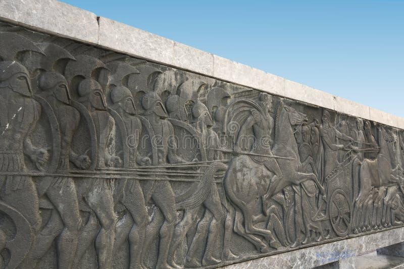 όμοια πινακίδα αρχαίου Έλληνα στοκ εικόνες με δικαίωμα ελεύθερης χρήσης