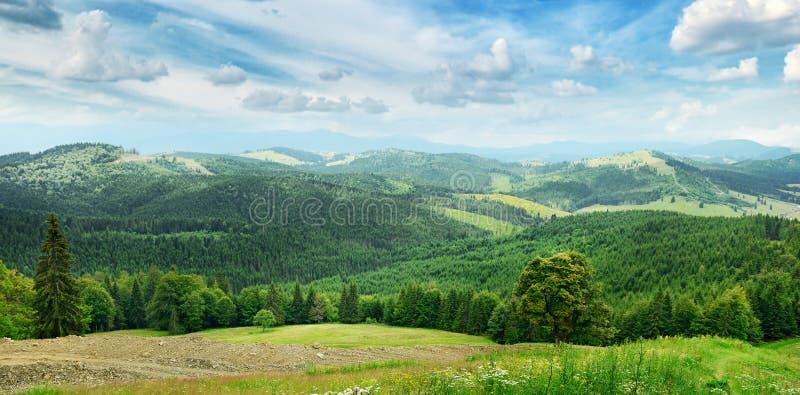Όμορφα βουνά στοκ εικόνες